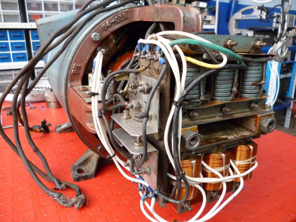 Transformador de un Generador de 15 KW